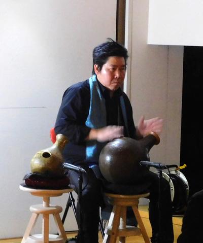 ウドゥ 壺打楽器 佐伯モリヤス 地底の森ミュージアム 仙台市富沢遺跡保存館 冬キラ 2017