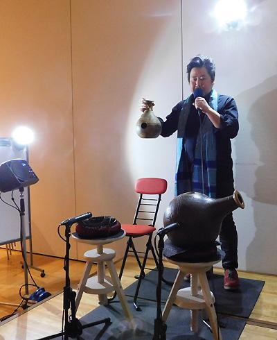 ウドゥ 壺打楽器 佐伯モリヤス MC 地底の森ミュージアム 仙台市富沢遺跡保存館 冬キラ 2017