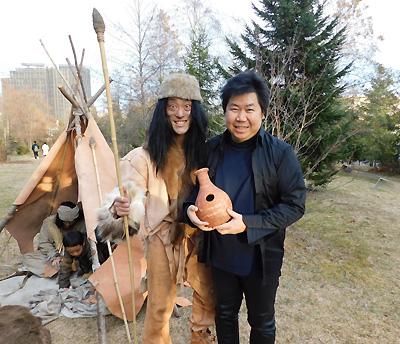 ウドゥ 壺打楽器 佐伯モリヤス 地底の森ミュージアム 仙台市富沢遺跡保存館 冬キラ 2017 狩人