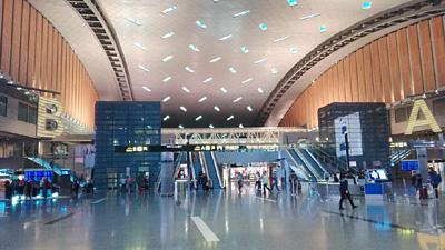 佐伯モリヤス カタール国際空港
