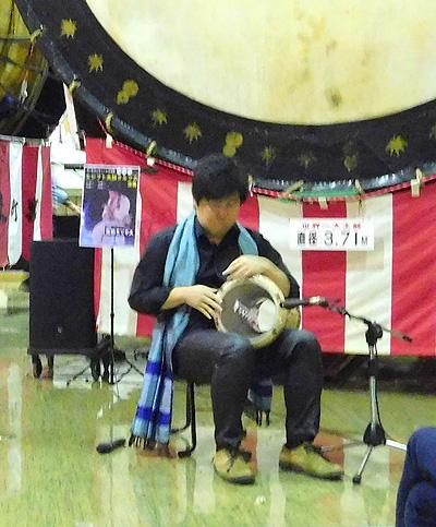 佐伯モリヤス アラブ打楽器 ダルブカ デモンストレーション 大太鼓の館 世界の太鼓ミュージアム ゴールデンウィーク こどもの日