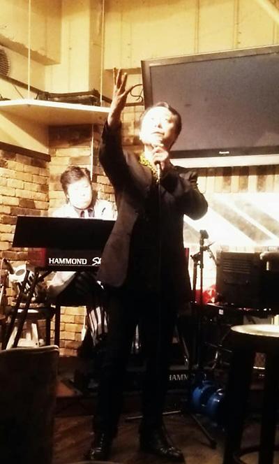 仙台 Want You シャンソン歌手 松嶋周二 佐伯モリヤス オルガン ライブ インド タブラー ハモンドオルガン