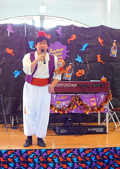 盛岡 ベアレン 赤レンガ ビールフェスト2018 乾杯 ハロウィン 仮装 佐伯モリヤス ハモンドオルガン 両日演奏