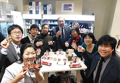 日本酒 名酒センター 浜松町 佐伯モリヤス 日本酒党 月例会 飲み会 呑み会 大門