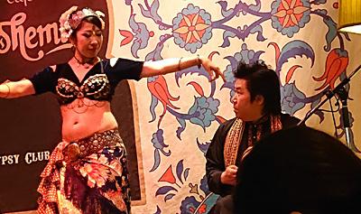 ダラブッカ ダルブッカ 渋谷 カフェボヘミア 佐伯モリヤス ベリーダンス ハフラ さらほうじゅ Sara Sawati