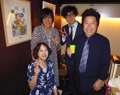 酒バ935 大崎駅 ライブ 中村早智 土志田元子 鈴木大輔 佐伯モリヤス