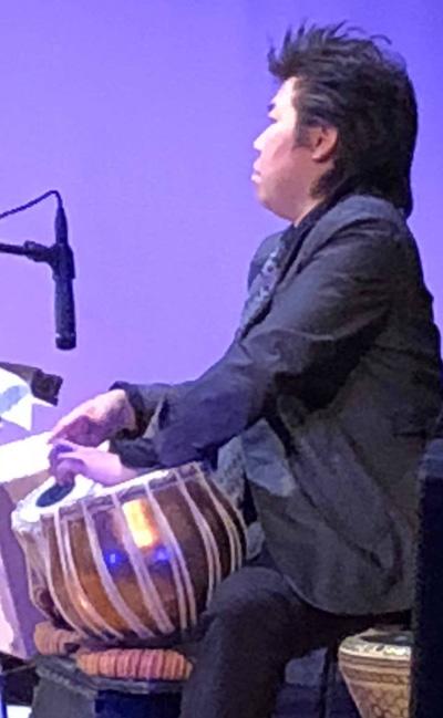 佐伯モリヤス インド太鼓 打楽器 タブラー なかの芸能小劇場