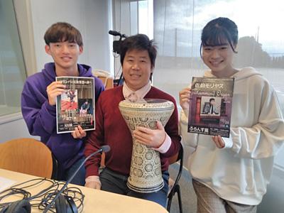 広島 エフエム FM ラジオ 出演 放送 佐伯モリヤス アラブ打楽器 ダルブカ 靴のひとり言 タンジェの外国人