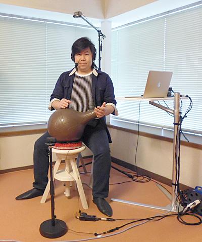 打楽器 ウドゥ 演奏 パーカッション 陶器 低音 音程 壺 佐伯モリヤス 教室