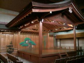 堺能楽会館の舞台