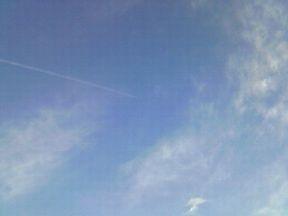 ヒコーキ雲