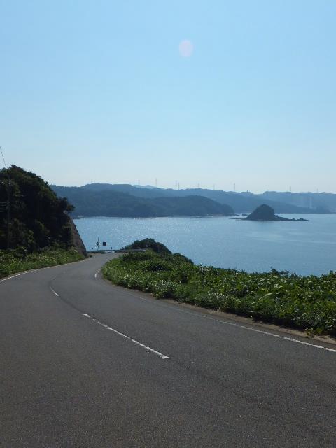鹿島付近の道