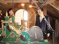 時計台設置に携わった、小川さんが説明してくれました。