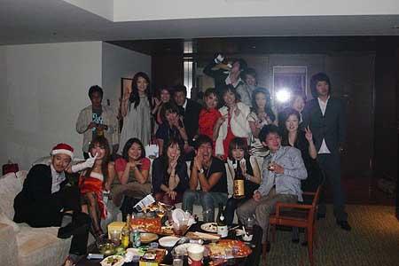 クリスマスパーティー2008@六本木グランドハイアット