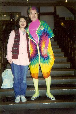 キッチンハートランドさんと志茂田景樹さん。ホールオブホールズにて