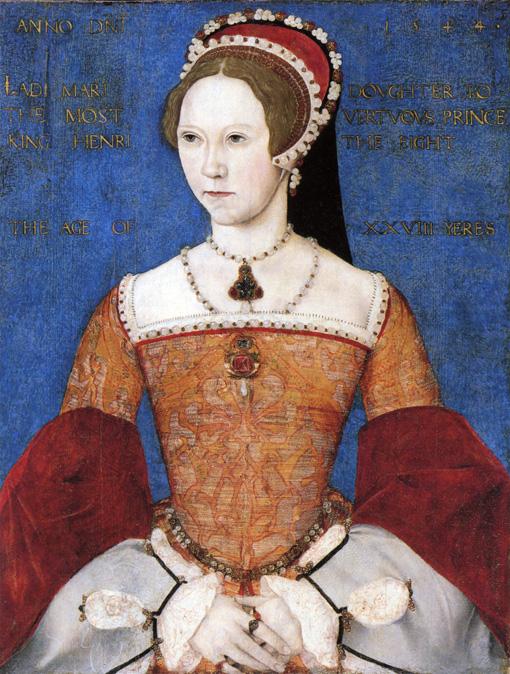 16世紀のイングランドとアイルランドの女王、メアリー1世