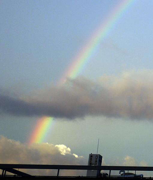 虹の写真 Rainbow