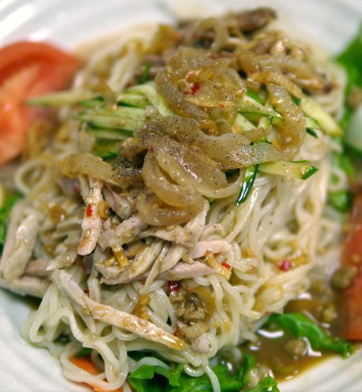 バンバンジー冷麺(新世界の三好魚翅店)