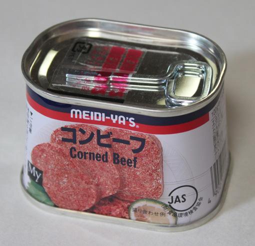 深夜食堂十五話、缶詰、その4、コンビーフ炒め。