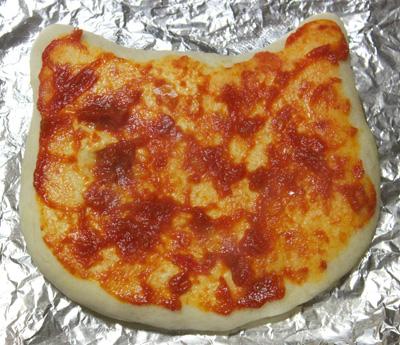 キティピザ ハローキティピザ あるある式ピザHELLO KITTY pizza