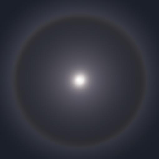 月虹 moonbow