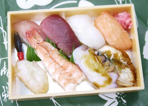 ○秀 お寿司の持ち帰りサービスセット