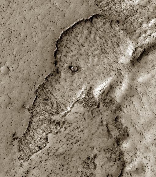 かわいい火星の象 火星のゾウ
