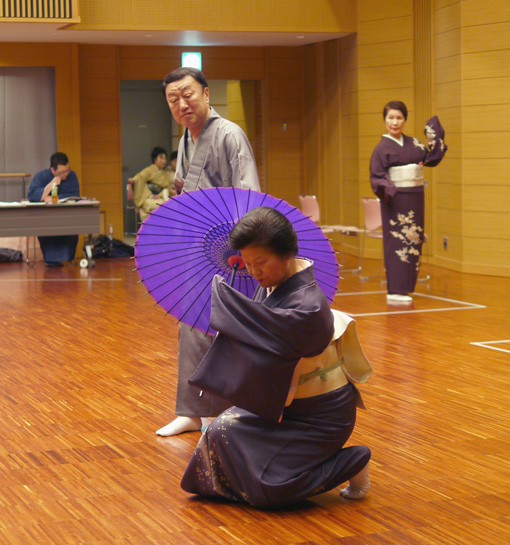 西川鯉右作舞「わが回想の京女」下々合わせ