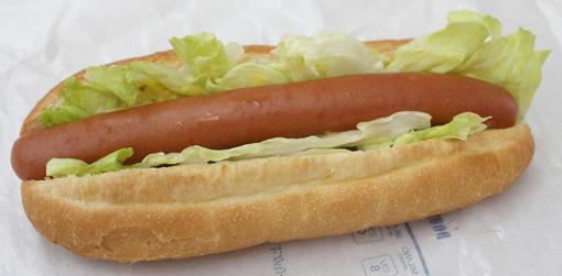 レタスドック Lettuce hotdog ドトールコーヒー