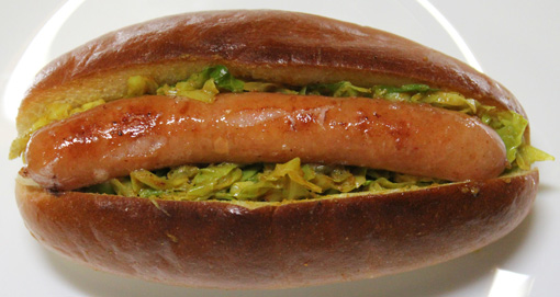大阪のホットドッグ 関西式ホットドッグ カレーキャベツドッグ