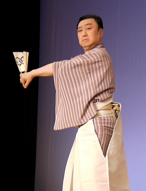 西川鯉右師匠
