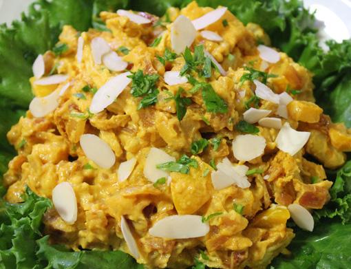 コロネーションサラダ Coronation chicken salad