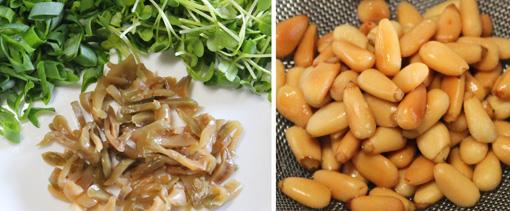四川風汁なし担々麺