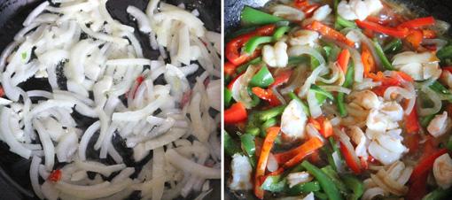 エビガパオライス 海老バジル炒めご飯
