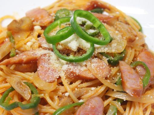 喫茶店風ナポリタン ナポリタン・スパゲッティー Spaghetti Neapolitan ナポリタンスパゲティ