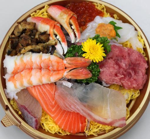 大漁海鮮丼 阪神髭定 魚屋さん