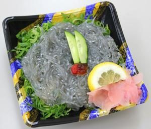 生しらす丼 さかな屋の寿司 阪神百貨店地下食 髭定 Baby Anchovy Rice Bowl