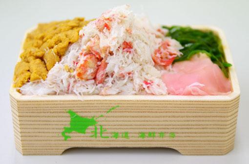 海鮮弁当 うに かに  和食海鮮 いしみず
