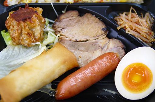 500円弁当 うめだ一番 豚とことん 中華弁当