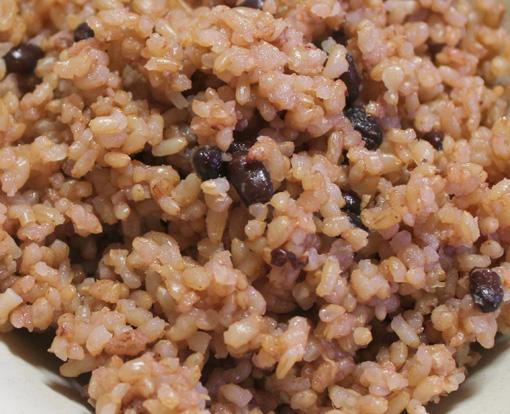 ねかせ玄米ご飯