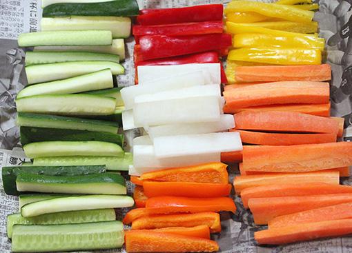 四川泡菜という乳酸発酵の漬け物