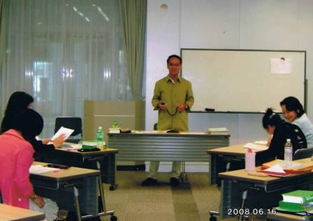 OBSセミナー講習中