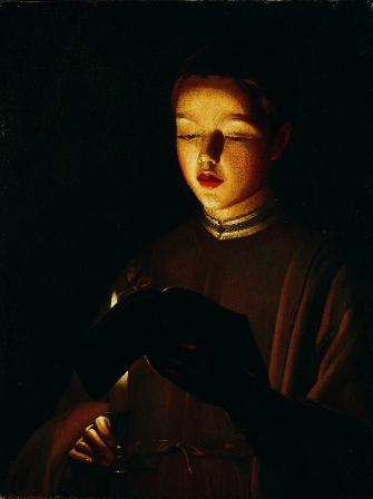The Choirboy (1640) by Georges de La Tour (1593-1652)