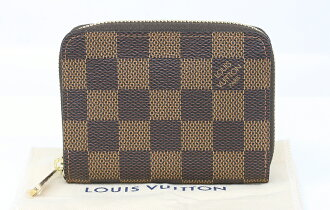 7d25be84a65b 【質屋 藤千商店】LOUIS VUITTON ルイヴィトン ダミエN63070ジッピー・コインパースラウンドファスナー【質屋出店】【中古】