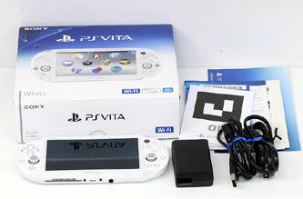 11ac53f739f0 SONY PlayStation Vita Wi-Fiモデル ホワイト PCH-2000 ZA12 プレイステーション 【質屋 藤千商店  https://page.auctions.yahoo.co.jp/jp/auction/r302041318