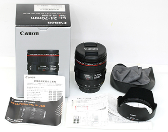 94ad49be753b 未使用品! キャノン CANON EF24-70mm F4L IS USM ズーム レンズ 【質屋 藤千商店】  https://page.auctions.yahoo.co.jp/jp/auction/n325552070