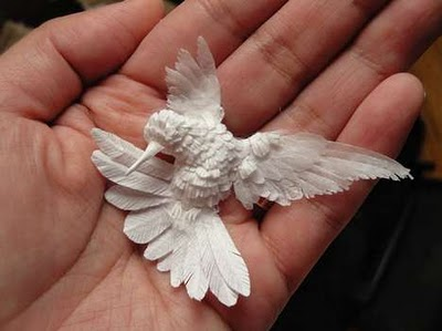 鳥のすごいペーパークラフト