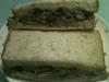 ウズラ豆のペースト&マッシュルームのサンドイッチ