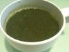 レンティルとほうれん草のスープ
