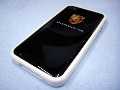 iPhone4/4s用バンパー シリコンケース